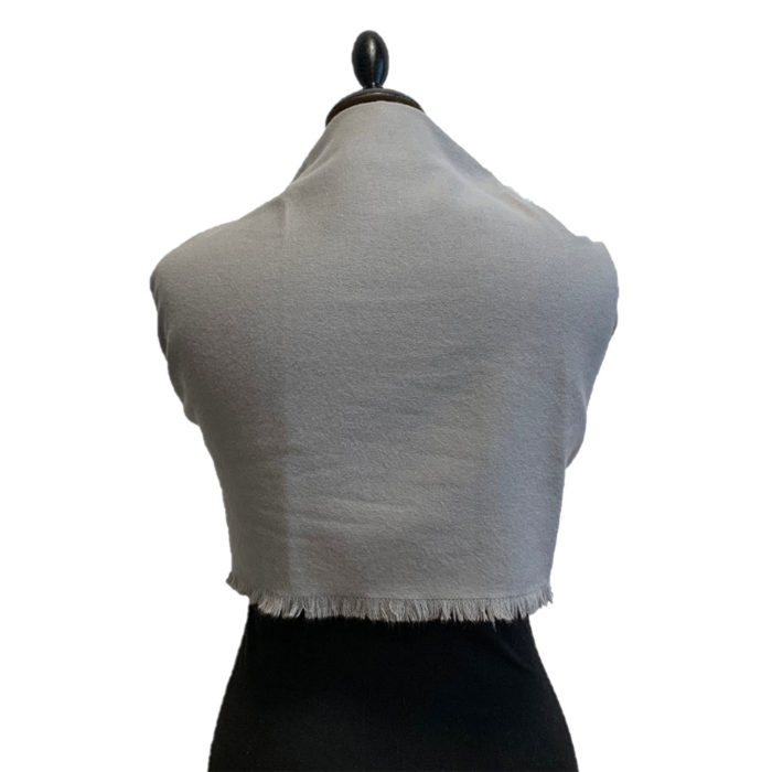 Scarf Stole Gris Verso Caresse Orylag
