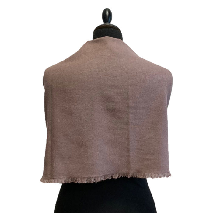 Scarf Stole Vieux Rose Verso Caresse Orylag