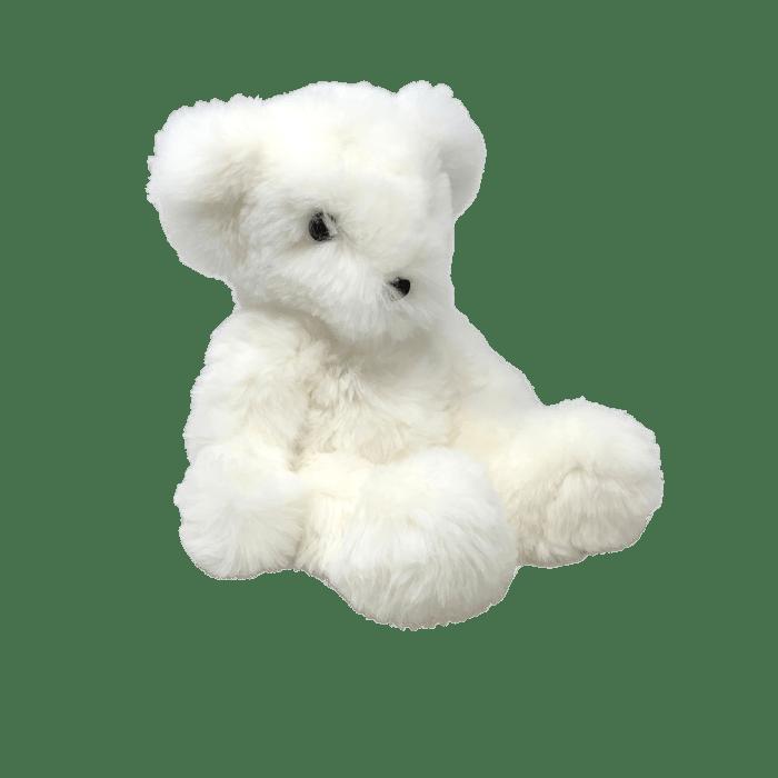 Teddy Bear Soft toy Plume Blanc Poil Long