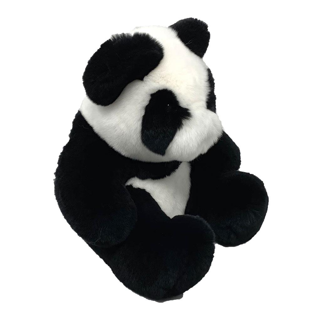 Peluche Panda noir blanc profil Caresse Orylag 2