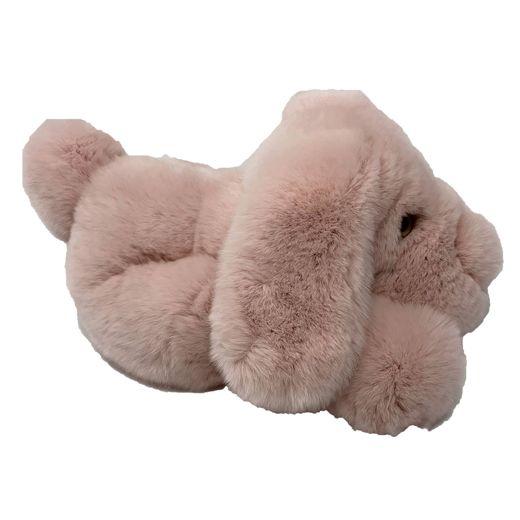 Peluche chien dormeur rose dragée S Caresse Orylag 2