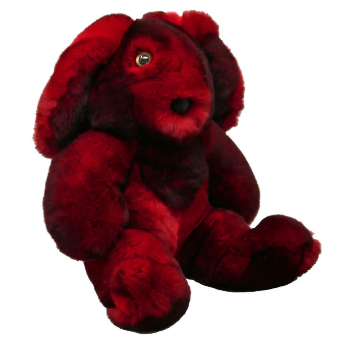 Peluche rouge S Caresse Orylag 2