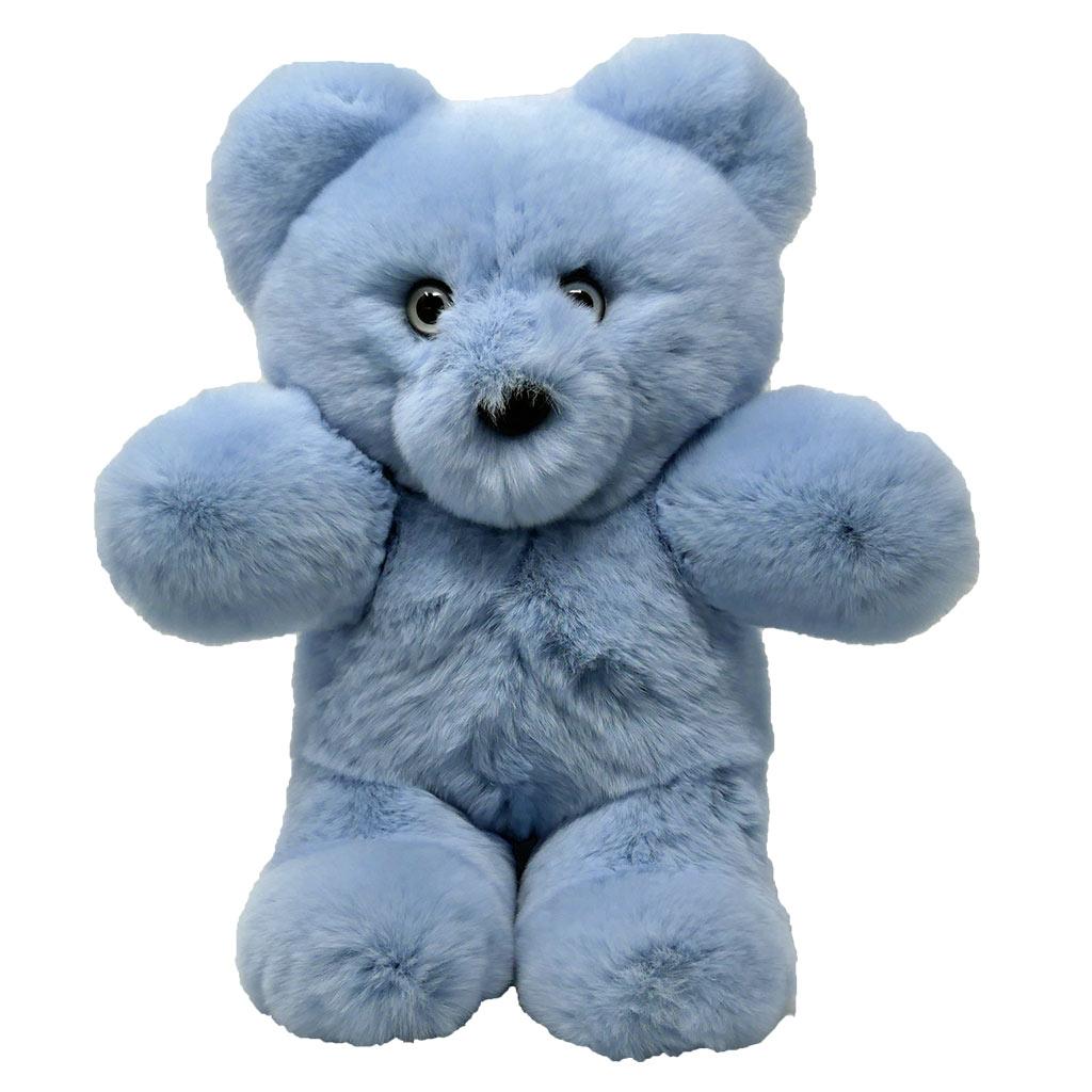 Peluche ours bleu ciel S Caresse Orylag 2