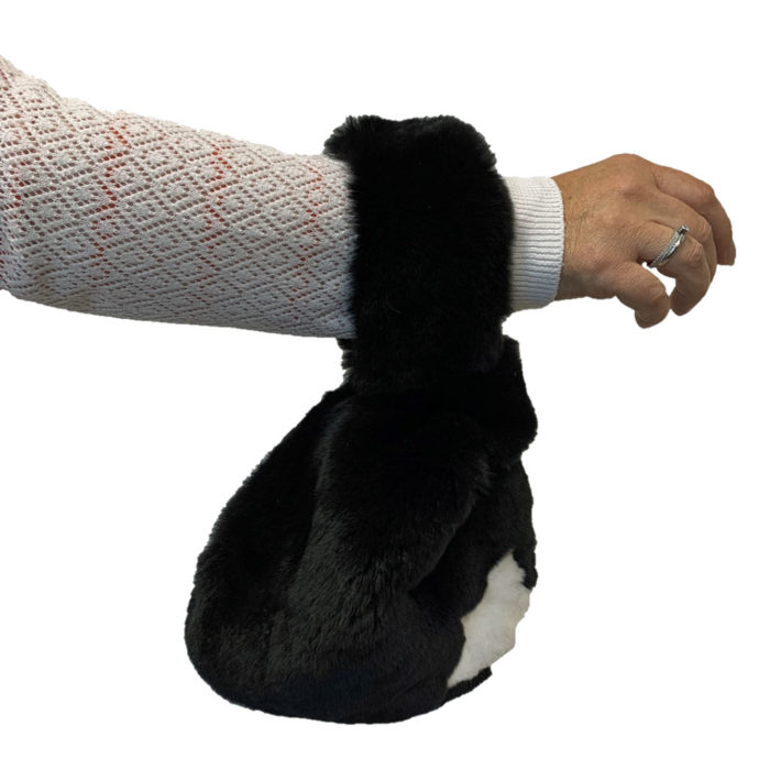 Japanese Knot Bag on arm
