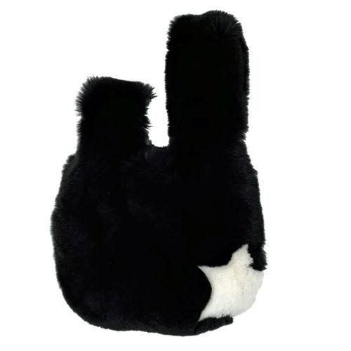 Sac Japonais posé noir étoile blanche Caresse Orylag