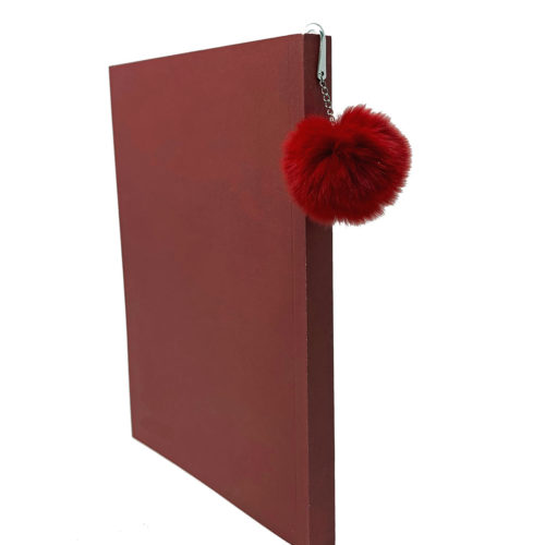 marque pages rouge Caresse Orylag