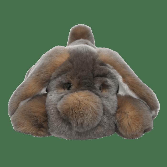 peluche-chien-dormeur-cendré-S Caresse Orylag
