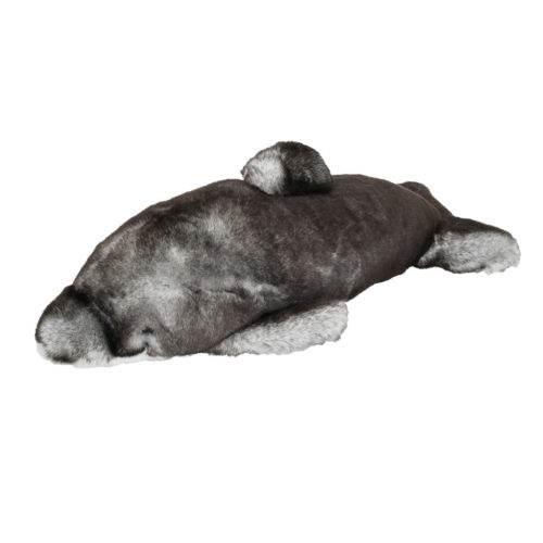 peluche dauphin gris caresse orylag 1