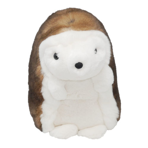 peluche hérisson marron caresse orylag 1