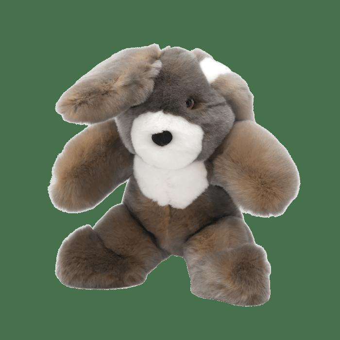 Rabbit soft toy cendré S profil