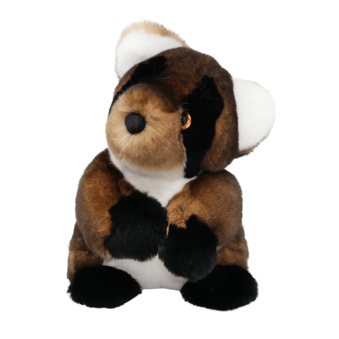 Soft Toy Raccoon Brown Face