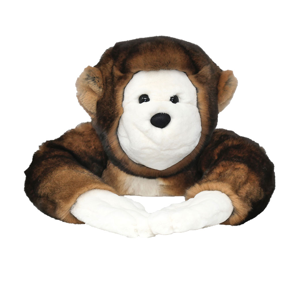 Soft toy monkey Brown caresse orylag 2