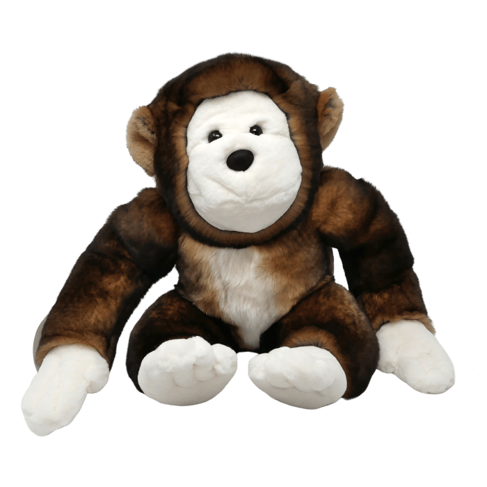 Soft toy monkey Brown face