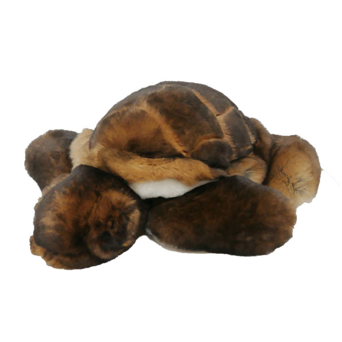 Turtle fur soft toy caresse orylag 1