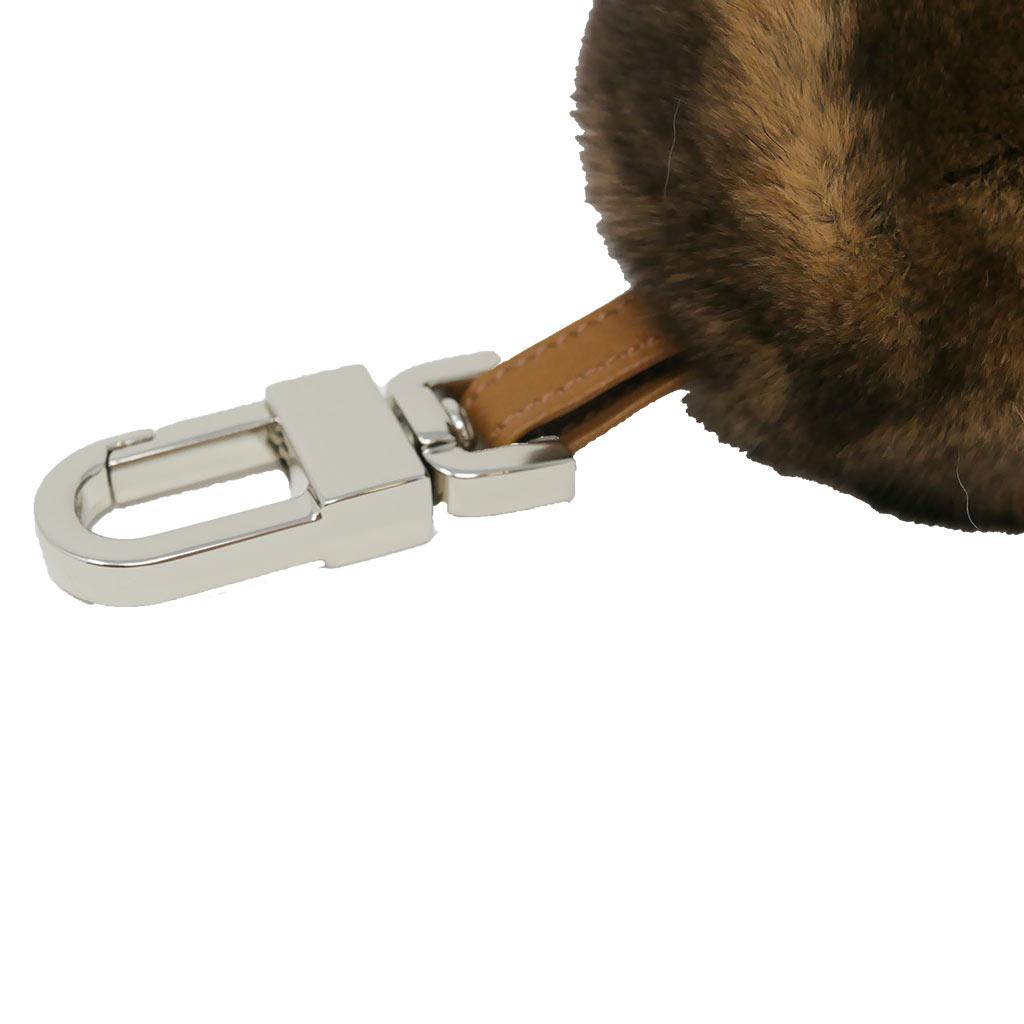 porte clés caresse boule beige caresse orylag 2