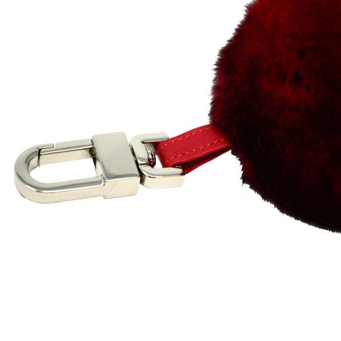 porte clés boule rouge caresse orylag 2