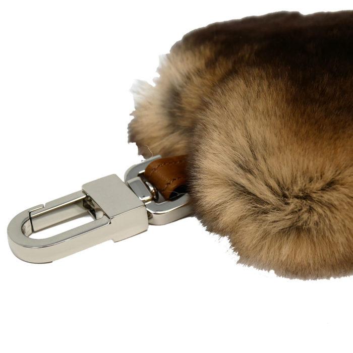 porte clés caresse cœur beige caresse orylag 2