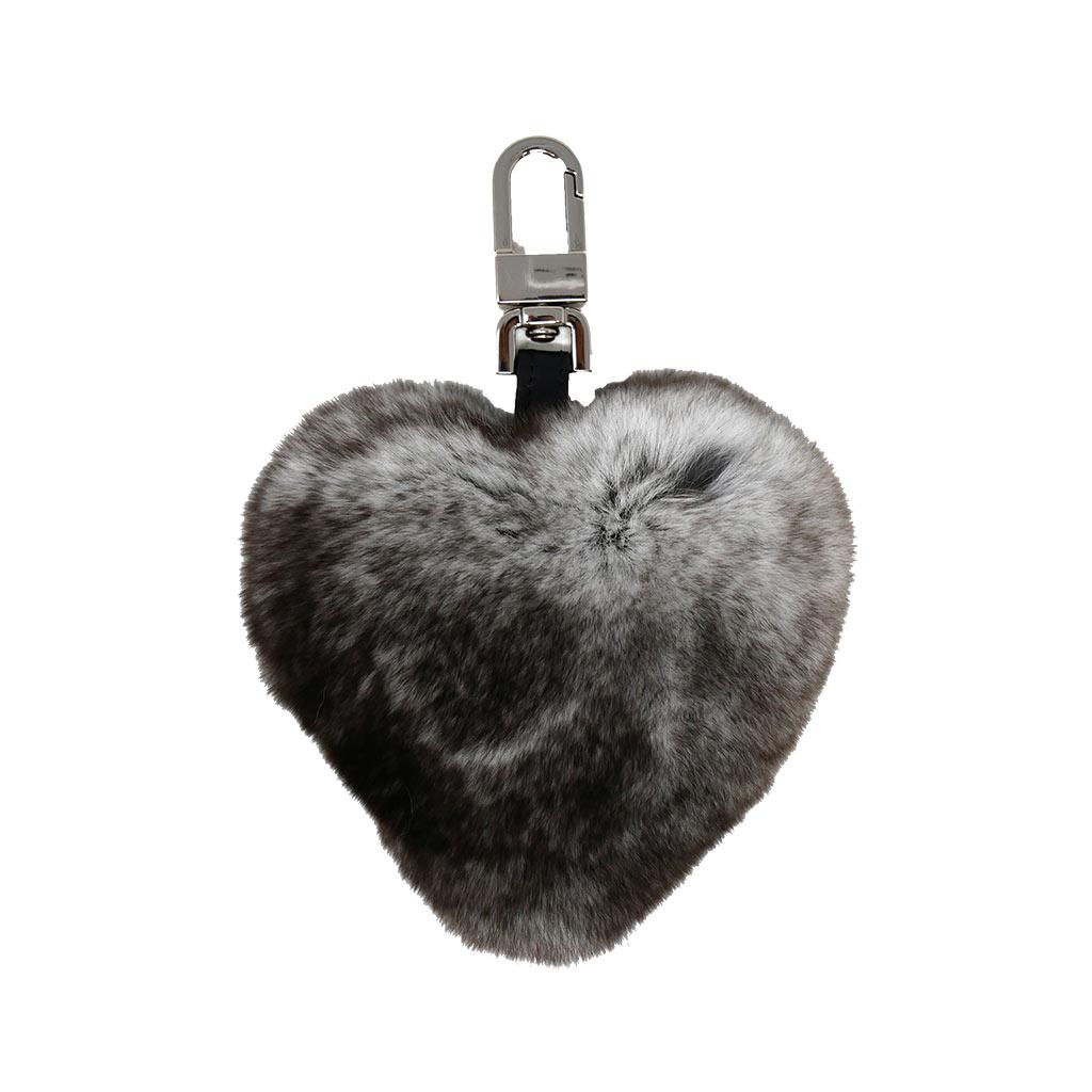 porte clés caresse cœur gris caresse orylag 1
