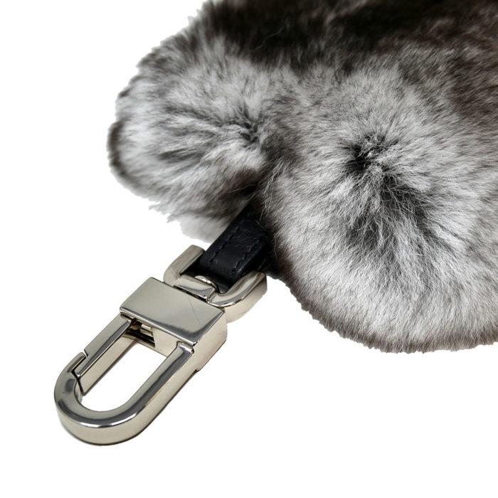 porte clés caresse cœur gris caresse orylag 2
