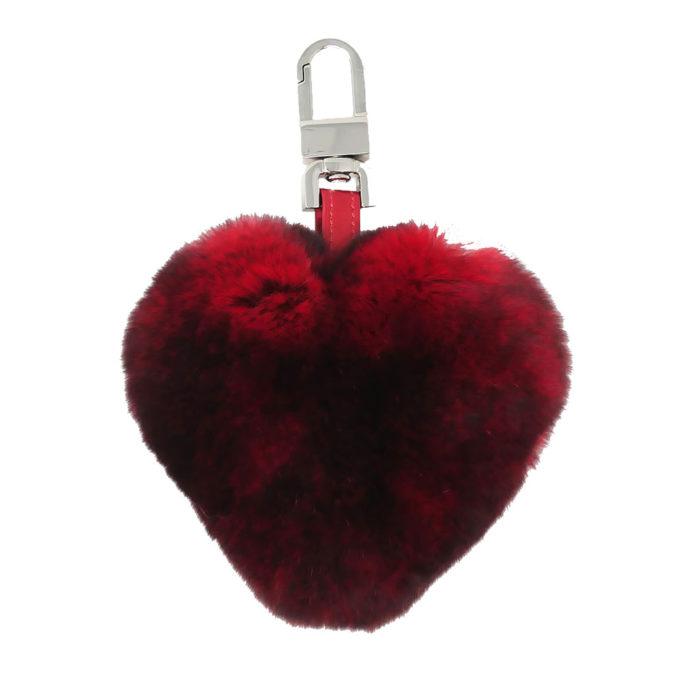 porte clés caresse cœur rouge caresse orylag 1
