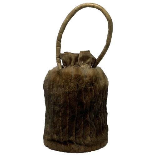 sac vintage marron caresse orylag