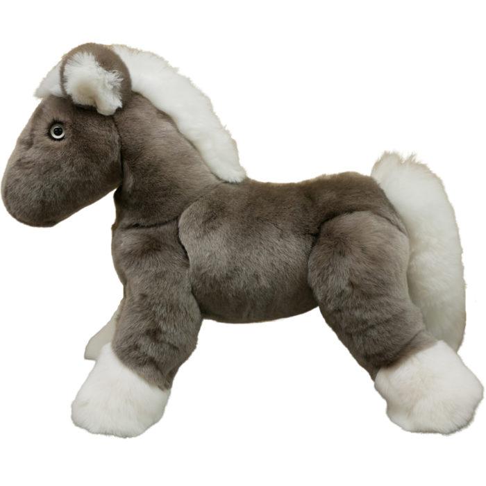 Soft toy Horse Gris Clair