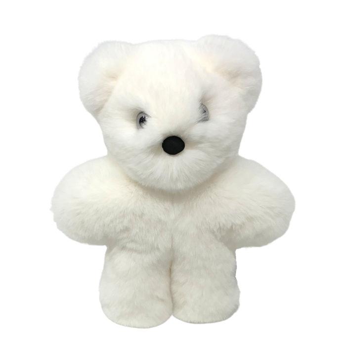 Soft Toy White Bear Cub