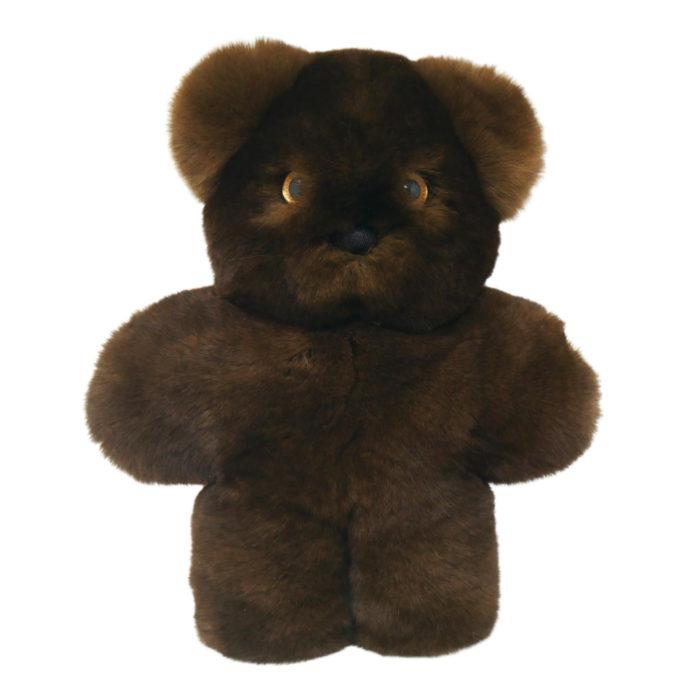 Soft toy Buff Bear Cub Ourson Marron