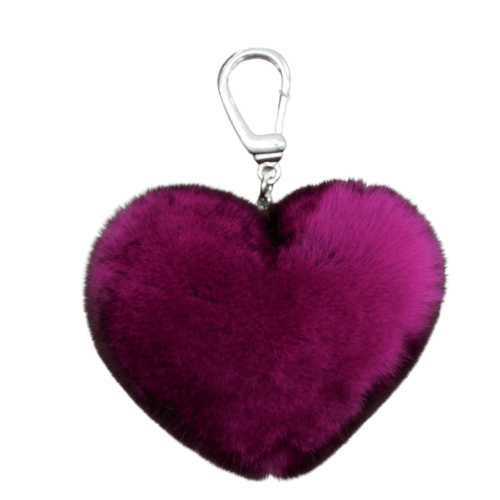 Keyholder Heart with Silver clip