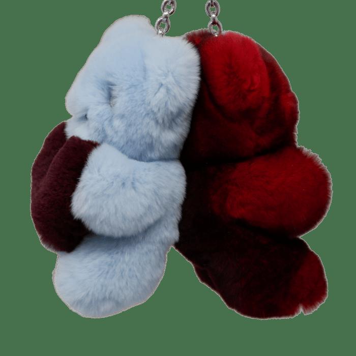 Porte-clés peluches ourson